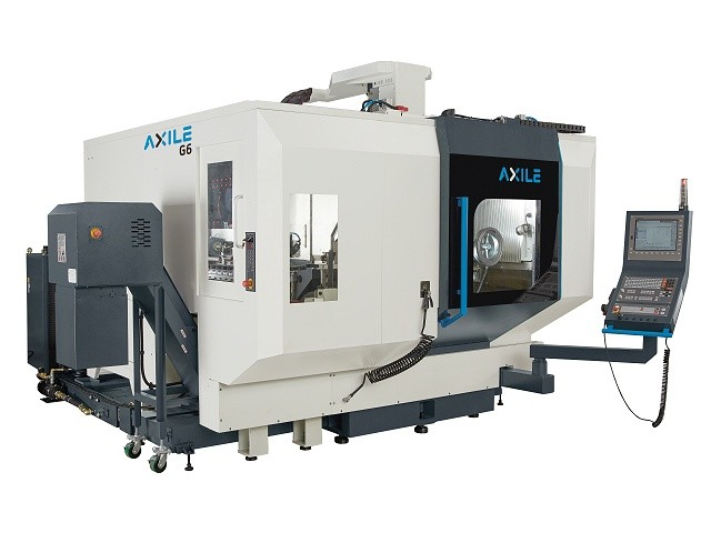 AXILE G6 / G6 Compact / G6 APC, 5-assige freesmachines