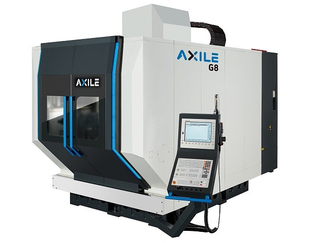 AXILE G8, 5-assige freesmachine